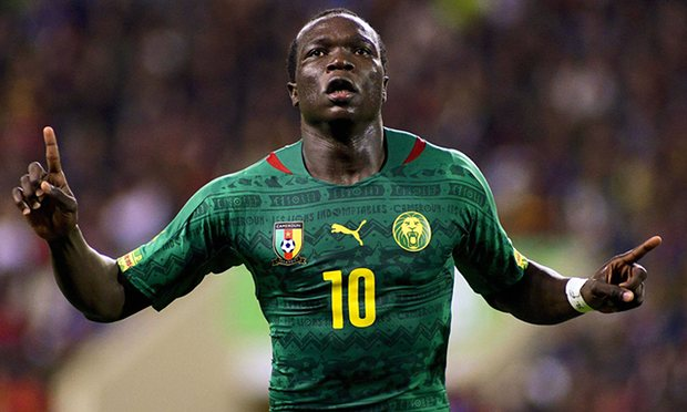 Cameroon Aboubakar to Everton